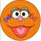 Zoe  Sesame Street Inspired ~ Cupcake Toppers ~ Set of 1 Dozen
