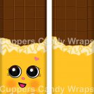 Cheeky Chocolate Yellow Inspired by Inspired by ~ Standard 1.55 oz Candy Bar Wrapper