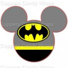 Batman Mickey Mouse Inspired by Super Heroes ~ Cupcake Toppers ~ Set of 1 Dozen
