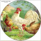 Chicken Wire Hen #6 ~ Cupcake Toppers ~ Set of 1 Dozen