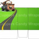 Cars Inspired Tow Truck Mater ~ Open Top 3D Treat or Gift Box ~ 1 DOZEN