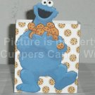 Sesame Street Inspired Cookie Monster White Cookie ~ Open Top 3D Treat or Gift Box ~ 1 DOZEN