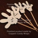 Mickey Mouse Hand ~ Cupcake Toppers ~ Set of 1 Dozen