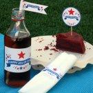 4th of July  ~ Water Bottle Wrapper ~ Set of 12