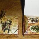 Silent Night ~  Hershey's Mini Candy Bar 4 Wrapper Box
