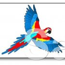 Colorful Parrot Bird Brad Paper Puppet