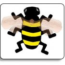 Insect Bee Brad Paper Puppet