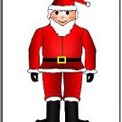 Christmas Santa Brad Paper Puppet