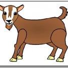 Brown Goat Brad Paper Puppet
