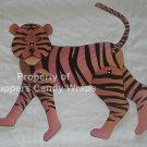 Tiger Brad Paper Puppet