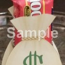 Money Bag Treat Bag ~ Open Top Treat or Gift Box ~ EACH