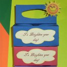 To Brighten Your Day Blue ~ K-Cup Gift Holder