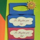 To Brighten Your Day Orange ~ K-Cup Gift Holder