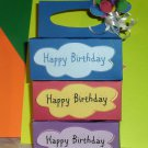 Happy Birthday Blue ~ K-Cup Gift Holder
