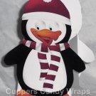 Christmas Penguin ~ Mini Treat Box Gift Tote Party Favor