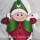 Christmas Elf ~ Mini Treat Box Gift Tote Party Favor