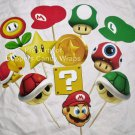 Mario Brothers Bros ~ Cupcake Toppers ~ Set of 1 Dozen