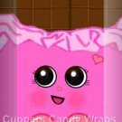 Shopkins Inspired Pink Vertical ~ MINI Candy Bar Wrappers EACH