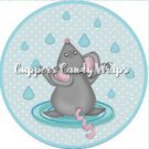 Dance In The Rain Mouse #1 ~ Cupcake Toppers ~ Set of 1 Dozen