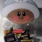 Gingerbread Man with Stocking Hat ~ Christmas ~ Treat Bag Topper