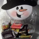 Snowman with Black Top Hat ~ Christmas ~ Treat Bag Topper
