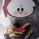 Penguin with Santa Hat ~ Christmas ~ Treat Bag Topper