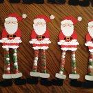Christmas Sixlets Legs Santa 1 Dozen
