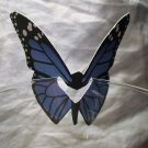 Blue Butterfly Place Holder and/or Drink Marker Blank Wing for Adding Name