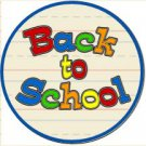 Back to School Cupcake Toppers ~ Set of 1 Dozen