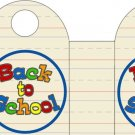 Back To School  ~ Handled Gift Tote Bag EACH
