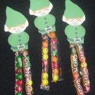 St. Patricks Day Leprechan  Sixlets Legs ~ 1 Dozen