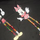 Disney Inspired Minnie Sixlets Legs ~ 1 Dozen