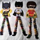 Batgirl Super Hero Heros Sixlets Legs ~ 1 Dozen