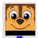 Chase White Bag Paw Patrol Inspired Inspired Gift or Treat Bag