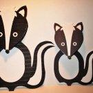 Skunk Woodland Animal Treat Bag Topper ~ Small