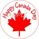 Happy Canada Day Cupcake Topper