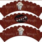 Flowers For Sale #2 ~ Cupcake Wrappers ~ Set of 1 Dozen