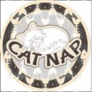 Cat Nap ~ Cupcake Topper ~ Set of 1 Dozen