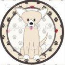 Dog Paws Chihuahua 2 ~ Cupcake Topper ~ Set of 1 Dozen