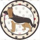 Dog Paws German Shepherd  ~ Cupcake Topper ~ Set of 1 Dozen