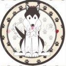 Dog Paws Husky ~ Cupcake Topper ~ Set of 1 Dozen