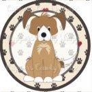 Dog Paws Mutt ~ Cupcake Topper ~ Set of 1 Dozen
