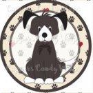 Dog Paws Mutt #3 ~ Cupcake Topper ~ Set of 1 Dozen