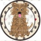 Dog Paws Yorkie ~ Cupcake Topper ~ Set of 1 Dozen