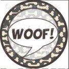 Dog Bone Top Dog Woof ~ Cupcake Topper ~ Set of 1 Dozen