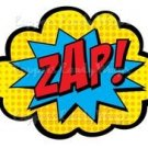 Super Hero Heroes Zap  ~ Cupcake Topper ~ Set of 1 Dozen
