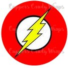 Flash Gordon Heroes Boom  ~ Cupcake Topper ~ Set of 1 Dozen