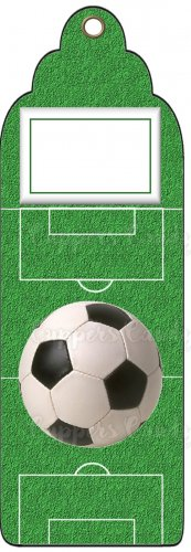 Candy Bar Gift Tag Sports Soccer