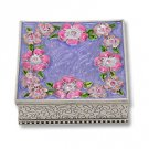 Jewelry Box with Flowers
