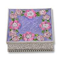 Jewelry Box with Flowers